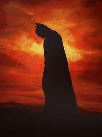 Batman painting von Paul Meijering