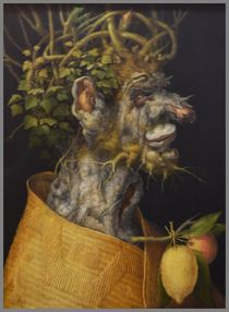 Work of Italian master Archimboldo. by Maks Erlikh