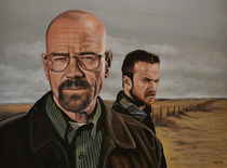 Breaking Bad painting von Paul Meijering
