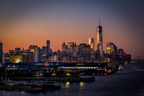 Sonnenaufgang in New York by gfischer