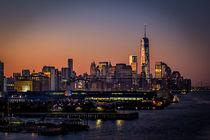 Sonnenaufgang in New York von gfischer
