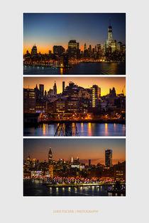 Hafeneinfahrt in New York by gfischer