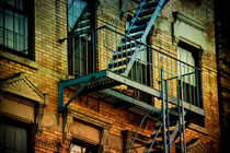 'Blue fire escape' by Darren Martin