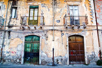 Antike Fassade - Sizilien by captainsilva