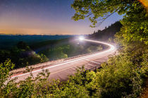 driving in mountains at night by digidreamgrafix