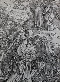 0455s - Engel mit Schlüssel - Angel with key von stiche. biz