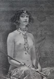 0565s - Frauenakt - nude girl von stiche. biz