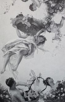 8694s - Engel im Blütenhimmel - Angels in heaven flowers von stiche. biz