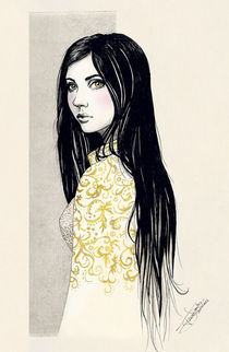 Golden eyes by Tania Santos