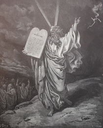 9399s - Moses steigt vom Sinai - Moses descends from Sinai  by stiche. biz