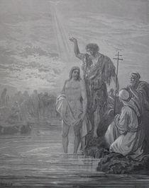 9421s - Taufe Jesu - Baptism of Jesus by stiche. biz