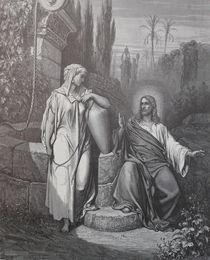 9423s - Jesus und Samariterin - Jesus and Samaritan Woman von stiche. biz