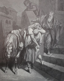 9427s - Ankunft des Samariters - Arrival of the Samaritan von stiche. biz