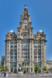 The Liver Building - Liverpool by Steve H Clark Photography