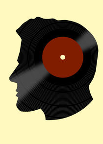 Vinyl Records - DJ - RETRO MUSIC LOVER by Denis Marsili