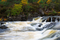 The Affric River, Glen Affric von Louise Heusinkveld