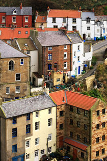 The fishing village of Staithes, North Yorkshire by Louise Heusinkveld