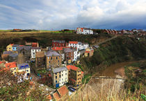 Staithes in North Yorkshire by Louise Heusinkveld