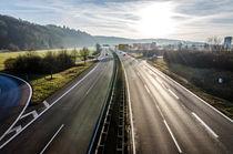 Autobahn von caladoart