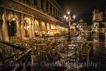 Rainy night in Venice by dayle ann  clavin
