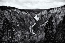 Lower Falls of the Yellowstone River by Ken Dvorak