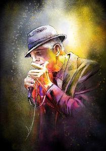 Leonard Cohen by Miki de Goodaboom