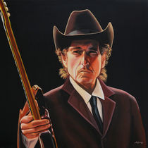 Bob Dylan 2 painting von Paul Meijering
