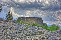 Surreal Über die Burgmauer von Stephan Gehrlein