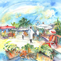 Market in Saint Martin von Miki de Goodaboom