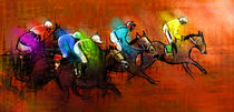 Horse Racing 01 by Miki de Goodaboom