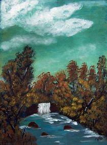 waterfall II by Vera Markgraf
