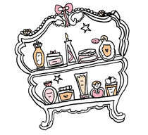 beauty cupboard by by Jill