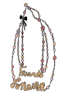 friends forever necklace by by Jill