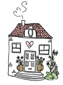 a happy cosy home by by Jill