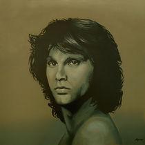 Jim Morisson painting  by Paul Meijering