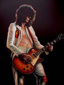 Jimmy Page painting 2 von Paul Meijering