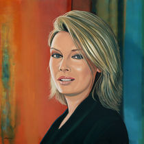 Kim Wilde painting  by Paul Meijering