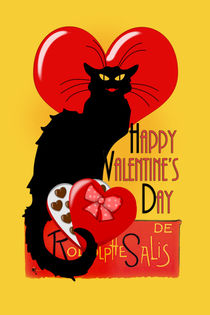 Happy Valentine's Day Le Chat Noir by gravityx9