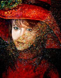 Frau mit Hut  von Marzena Schulz