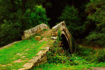 Beggars Bridge in Glaisdale North Yorkshire by Louise Heusinkveld