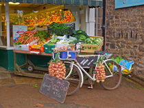 Produce Market in Corbridge by Louise Heusinkveld