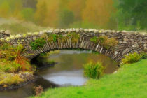 Packhorse Bridge von Louise Heusinkveld