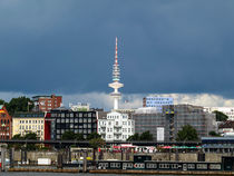 Skyline of Hamburg/Germany -Hafen Hamburg by madle-fotowelt