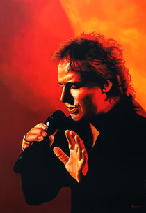 Marco Borsato painting by Paul Meijering