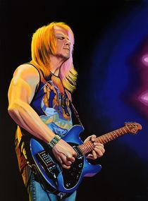 Steve Morse painting von Paul Meijering