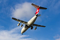 Swiss Air BAE146 HB-IXW von David Pyatt