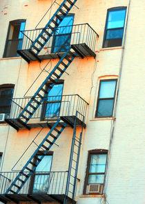Brooklyn Fire Escape by Jon Woodhams