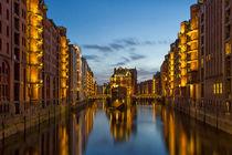 Speicherstadt Hamburg by Tom Mrkl