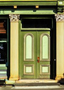 Green Door by Jon Woodhams