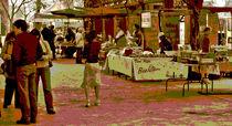 Farmers Market  - Fresno California by Joseph Coulombe